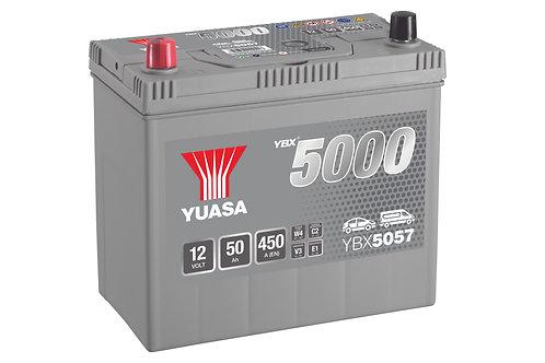 YBX5057 JIS B24R 12V 50Ah  450A