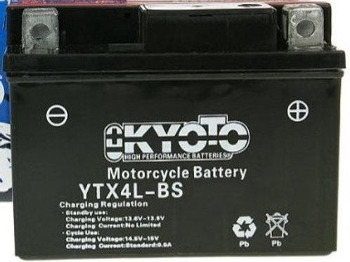 BATTERIE KYOTO YTX4L-BS  12V 4Ah 50A