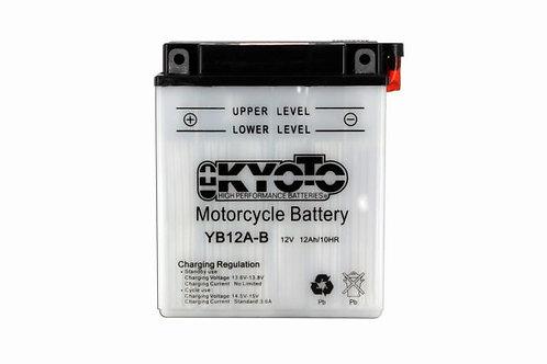 BATTERIE KYOTO YB12A-B 12V 12Ah 165A