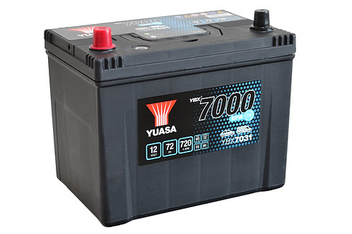YBX7031 D26R JIS 12V 72Ah  720A