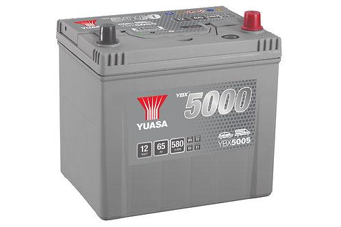 YBX5005 JIS D23L 12V 60Ah  460A
