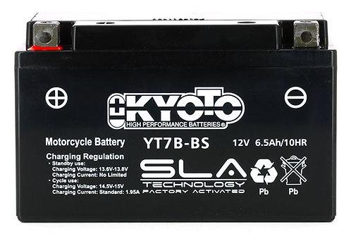 BATTERIE KYOTO YT7B-BS SLA 12V 6Ah 85A