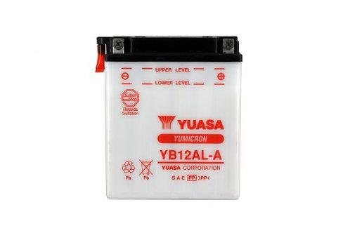 BATTERIE YUASA YB12AL-A 12V 12Ah 165A