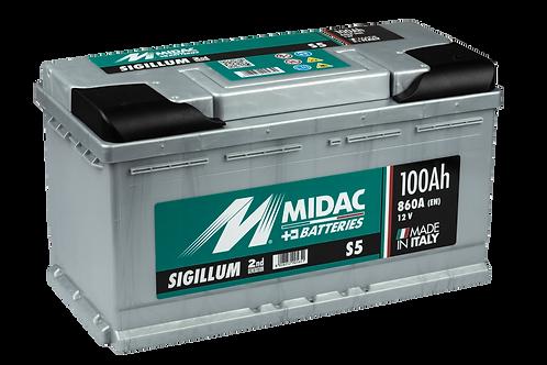 BATTERIE MIDAC SIGILLUM S5 L5 12V 100Ah  860A