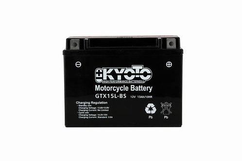 BATTERIE KYOTO YTX15L-BS 12V 13Ah 230A