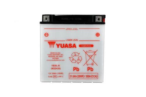 BATTERIE YUASA YB30L-B 12V 30Ah 300A