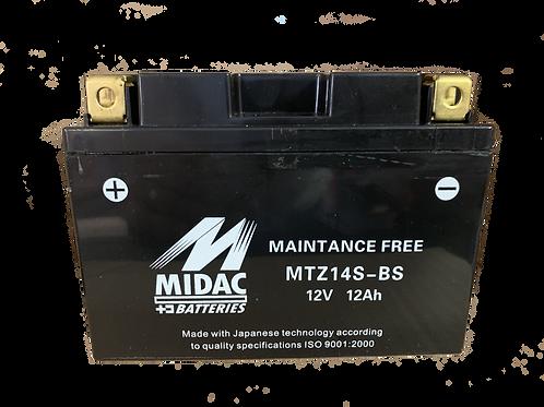 BATTERIE MIDAC AGM YTZ14S-BS 12V 11.2Ah  235A