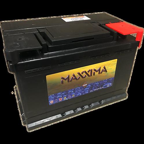 BATTERIE VINCENT - MAXXIMA CLASSIC 12V 74Ah  720A