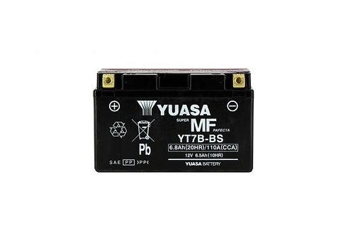 BATTERIE YUASA YT7B-BS 12V 6Ah 85A
