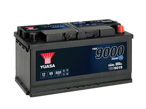 BATTERIE YUASA L5 AGM START&STOP 12V 95Ah  850A