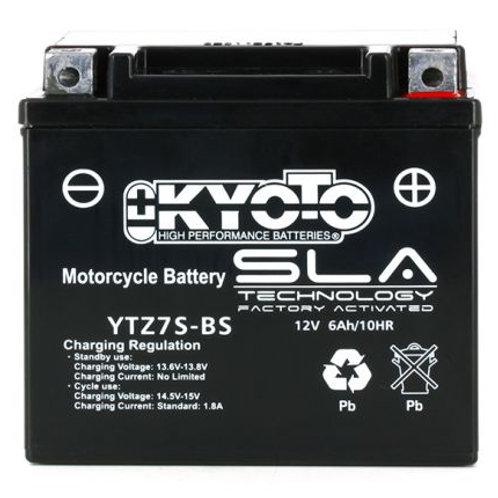 BATTERIE KYOTO YTZ7S-BS SLA 12V 6Ah 120A