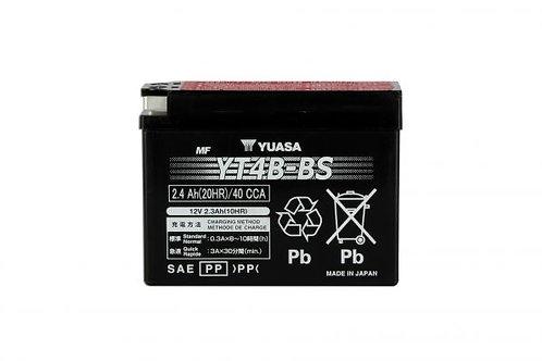 BATTERIE YUASA YT4B-BS 12V 2.3Ah 20A