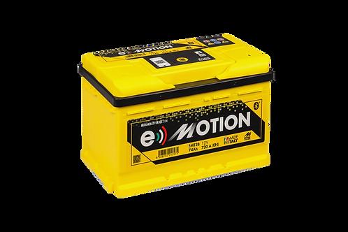 BATTERIE MIDAC E-MOTION EMT3B L3B 12V 74Ah  720A