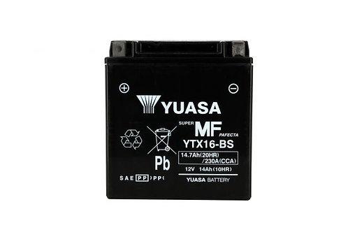 BATTERIE YUASA YTX16-BS 12V 14Ah 210A