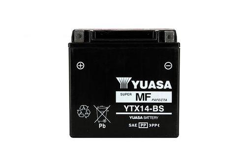 BATTERIE YUASA YTX14-BS 12V 12Ah 200A