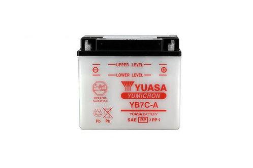 BATTERIE YUASA YB7C-A 12V 8Ah 80A