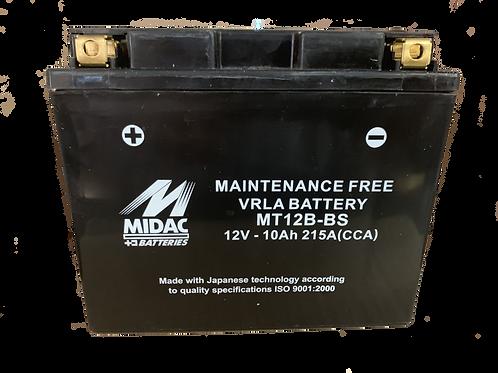 BATTERIE MIDAC AGM YTZ12B-BS 12V 10Ah  170A