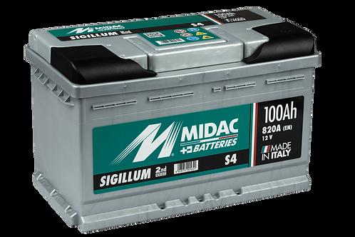 BATTERIE MIDAC SIGILLUM S4 L4 12V 100Ah  820A