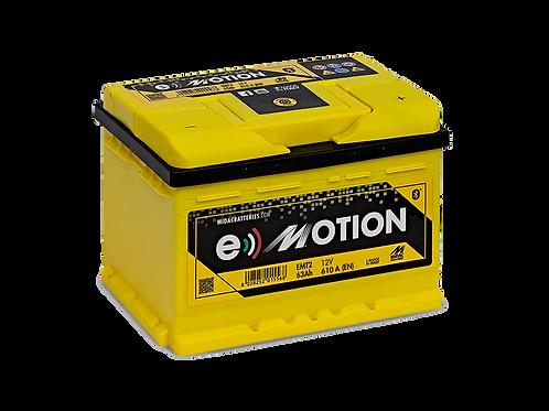 BATTERIE MIDAC E-MOTION EMT2B L2B 12V 63Ah  610A