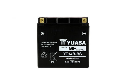 BATTERIE YUASA YT14B-BS 12V 12Ah 135A