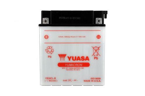 BATTERIE YUASA YB30CL-B 12V 30Ah 300A