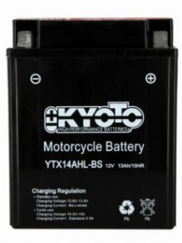 BATTERIE KYOTO YTX14AHL-BS SLA 12V 12Ah 210A