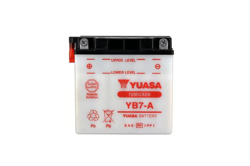 BATTERIE YUASA YB7-A 12V 8Ah 90A
