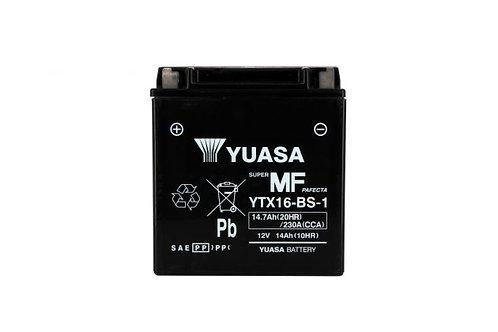 BATTERIE YUASA YTX16-BS-1 12V 14Ah 220A