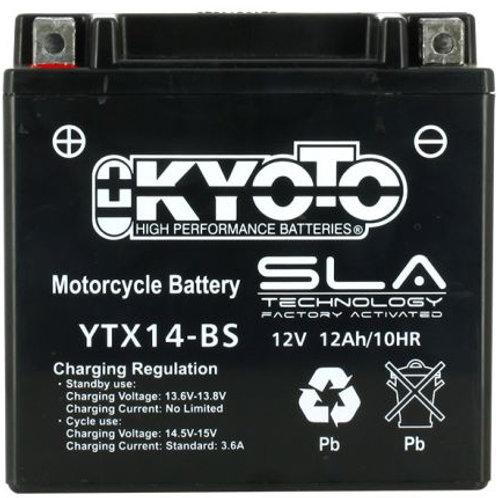 BATTERIE KYOTO YTX14-BS SLA 12V 14Ah 250A