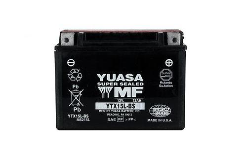 BATTERIE YUASA YTX15L-BS 12V 13Ah 230A