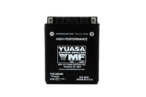 BATTERIE YUASA YTX14AH-BS 12V 12Ah 210A