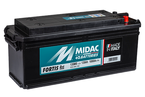 BATTERIE MIDAC FORTIS 135MS 12V 135Ah  1000A