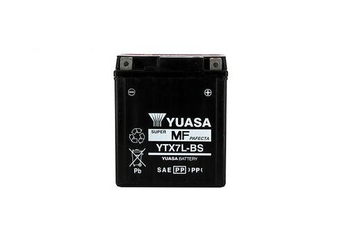 BATTERIE YUASA YTX7L-BS 12V 6Ah 85A