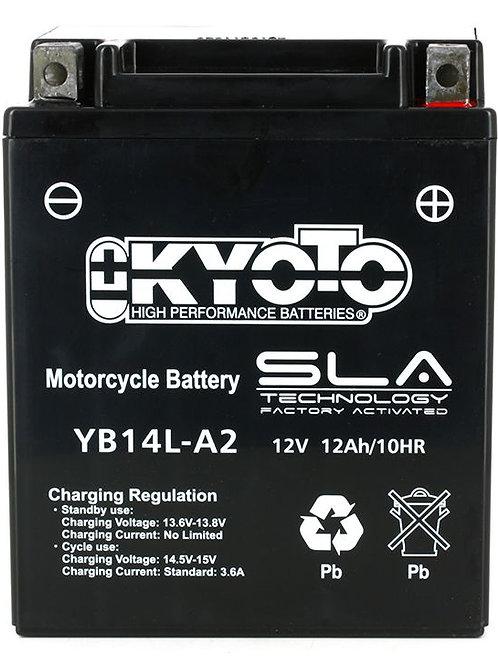 BATTERIE KYOTO YB14L-A2 SLA 12V 14Ah 250A