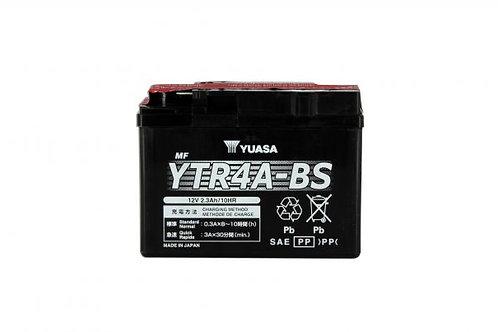BATTERIE YUASA YTR4A-BS 12V 2.3Ah 25A