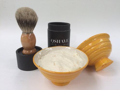 Men's Deluxe Shaving soap set