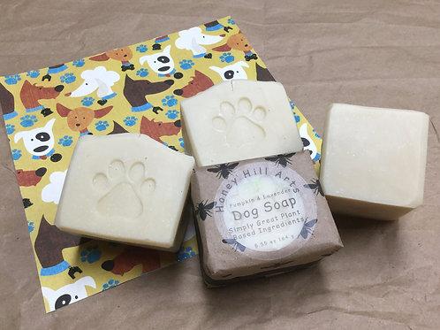 Dog Soap Pumpkin & Lavender