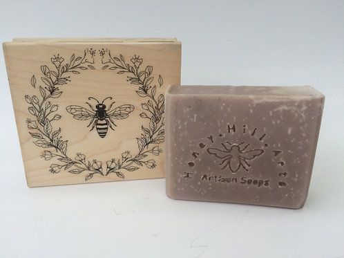 Brazilian Clay Purple Lavender Soap