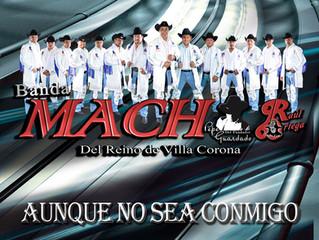 """CD  Banda Mach """"Aunque no sea Conmigo"""""""