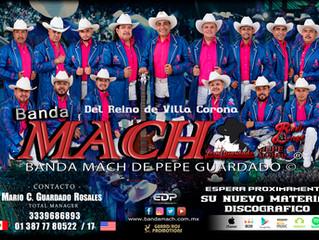 Banda Mach prepara nuevo material 2020
