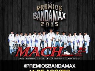 BandaMach en #PREMIOSBANDAMAX