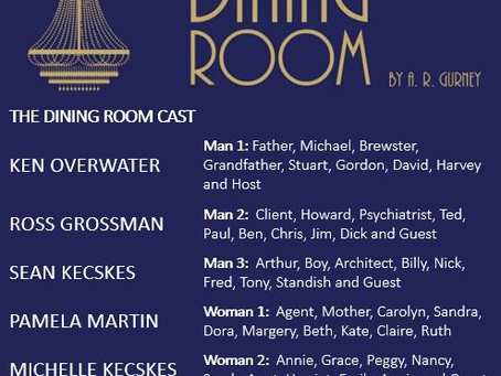 The Dining Room Cast