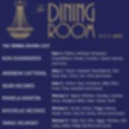 The Dining Room Cast List.JPG