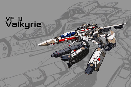 VF-1J Valkyrie [Gerwalk]