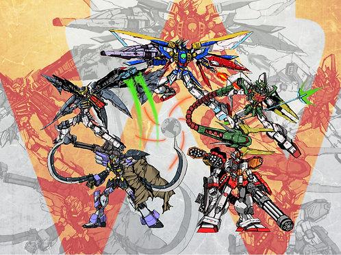Gundam Wing Operation Meteor