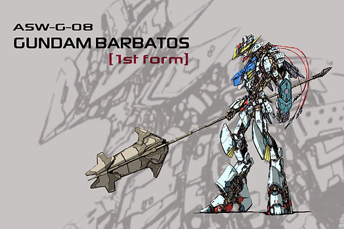 Gundam Barbatos 1st For