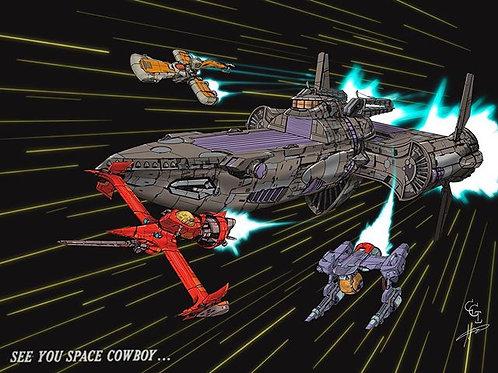Cowboy Bebop Ships