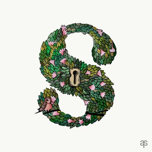S - Secret Garden by Frances Hodgson Burnett