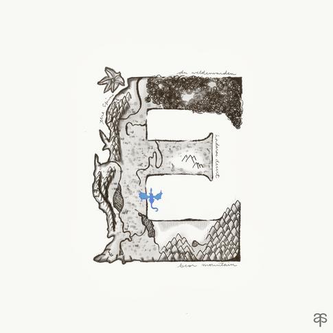 E- Eragon by Christopher Paolini
