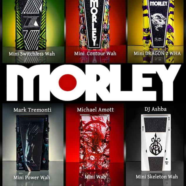 MORLEY CUSTOM SHOP PEDALS